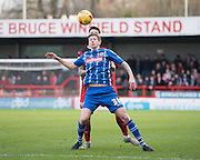 Notts County Forward Jonathan Stead during the Sky Bet League 2 match between Crawley Town and Notts County at the Checkatrade.com Stadium, Crawley, England on 16 January 2016. Photo by David Charbit.