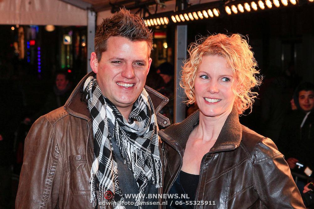 NLD/Amsterdam/20130114 - Premiere Django Unchained, Kees Tol en ?????