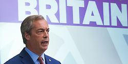 "UKIP leader Nigel Farage announces that he is to step down as Leader of UKIP at a press conference in Westminster, claiming ""we got our country back, now I want my life back""."
