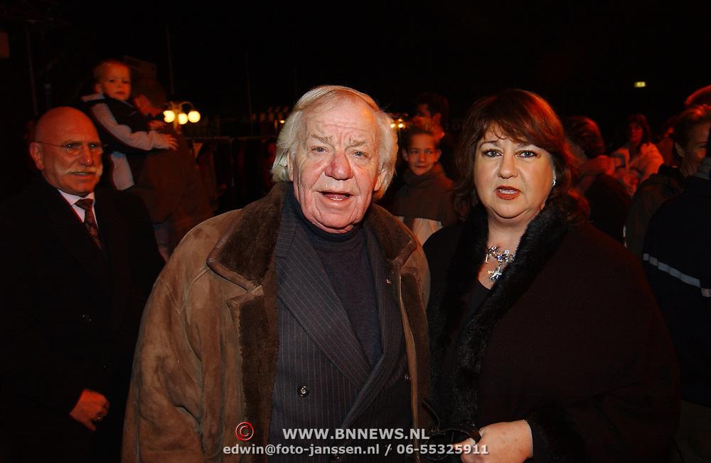 Russisch Kerstcircus 2003, Adriaan van Toor en vrouw