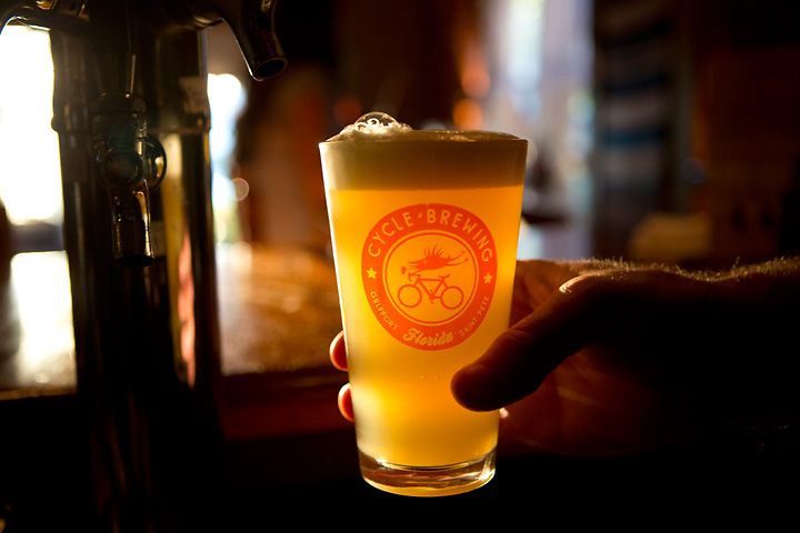 Culinary Adventures in Tampa Bay. Brews by Cycle Brewery in St. Petersburg, FL, Food Truck Rally in Tampa, New Food offerings in Gulfport.