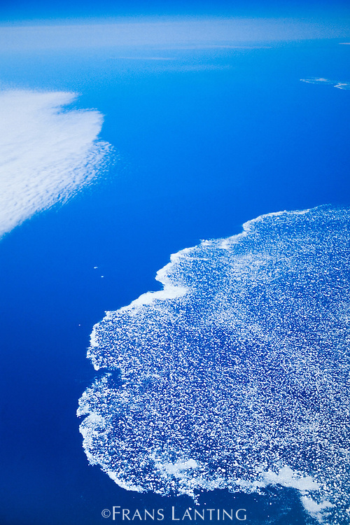 Floating ice (aerial), Greenland