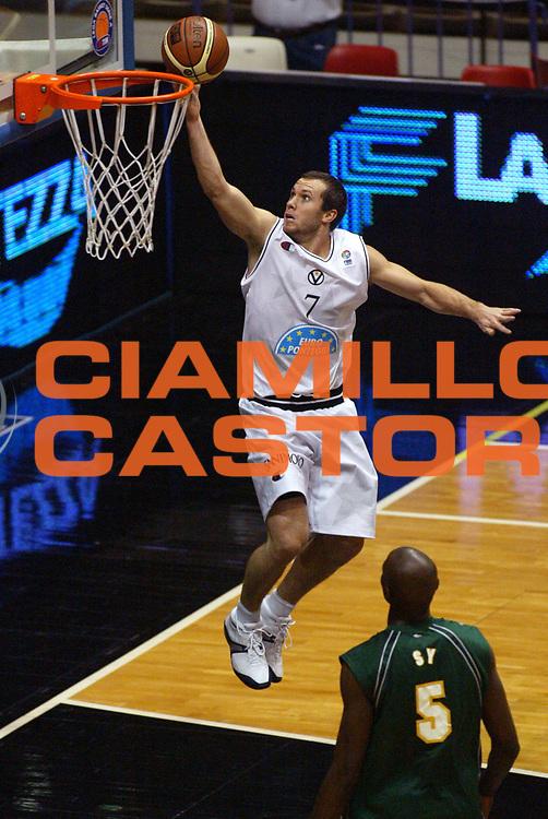 DESCRIZIONE : Bologna Fiba Cup 2006-07 Europonteggi Virtus Bologna Adecco Asvel Villeurbanne <br /> GIOCATORE : Blizzard <br /> SQUADRA : Europonteggi Virtus Bologna <br /> EVENTO : Fiba Cup 2006-2007 <br /> GARA : Europonteggi Virtus Bologna Adecco Asvel Villeurbanne <br /> DATA : 14/11/2006 <br /> CATEGORIA : Tiro <br /> SPORT : Pallacanestro <br /> AUTORE : Agenzia Ciamillo-Castoria/M.Minarelli <br /> Galleria : Fiba Eurocup  2006-2007 <br /> Fotonotizia : Bologna Europonteggi Virtus Bologna Adecco Asvel Villeurbanne<br /> Predefinita : si