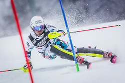 """Manuel Feller (AUT) during FIS Alpine Ski World Cup 2016/17 Men's Slalom race named """"Snow Queen Trophy 2017"""", on January 5, 2017 in Course Crveni Spust at Sljeme hill, Zagreb, Croatia. Photo by Ziga Zupan / Sportida"""