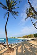 Mahaiula Beach, Kekaha Kai State Park, Kona, Island of Hawaii, Hawaii