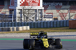 February 19, 2019 - Barcelona, Barcelona, Spain - Nico Hulkenberg of Germany driving the (27) Renault F1 Team RS19 during day two of F1 Winter Testing at Circuit de Catalunya on February 19, 2019 in Montmelo, Spain. (Credit Image: © Jose Breton/NurPhoto via ZUMA Press)