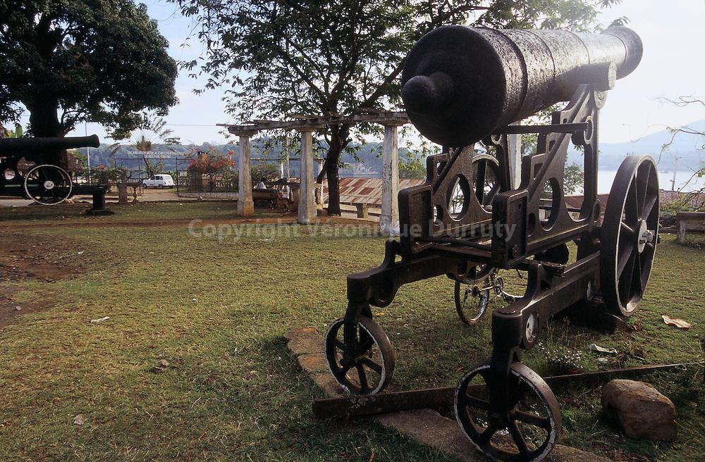 CANON, HELL VILLE, ILE DE NOSY BE, MADAGASCAR/