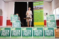 &copy; Licensed to London News Pictures. 2/6/2017 SHEFFIELD   , UK.  <br /> The Green Party at the  Broomhall Centre in Sheffield today (Friday 2nd June 2017) for their general election campaign. The party&rsquo;s co-leader Caroline Lucas (right) and former leader, Natalie Bennett spoke defending migrants&rsquo; contribution to Britain and pledge their support for continued free movement within Europe. Caroline Lucas spoke yesterday to condemn Donald Trump's decision to pull out of the Paris climate agreement.<br />   <br /> Photo credit: CHRIS BULL/LNP