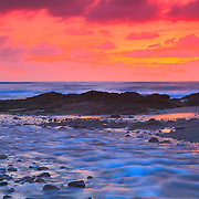 Bob Creek Sunset - Late Dusk - Oregon Coast