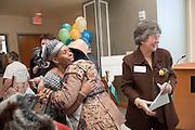 Baker Center Dedication..Women's Center..Beatrice Selotlegeng,Kathy Krendl