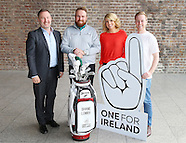 SHANE LOWRY ONE FOR IRELAND CAMPAIGN IN AID OF YOUTH HOMELESSNESS
