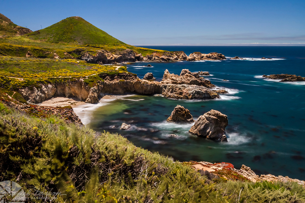 Soberanes Cove on the Big Sur Coast, along Highway One, California