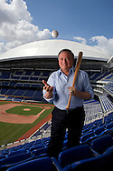 Miami Marlins owner Jeffrey Loria at Marlins Park on Tuesday, March 13, 2012.