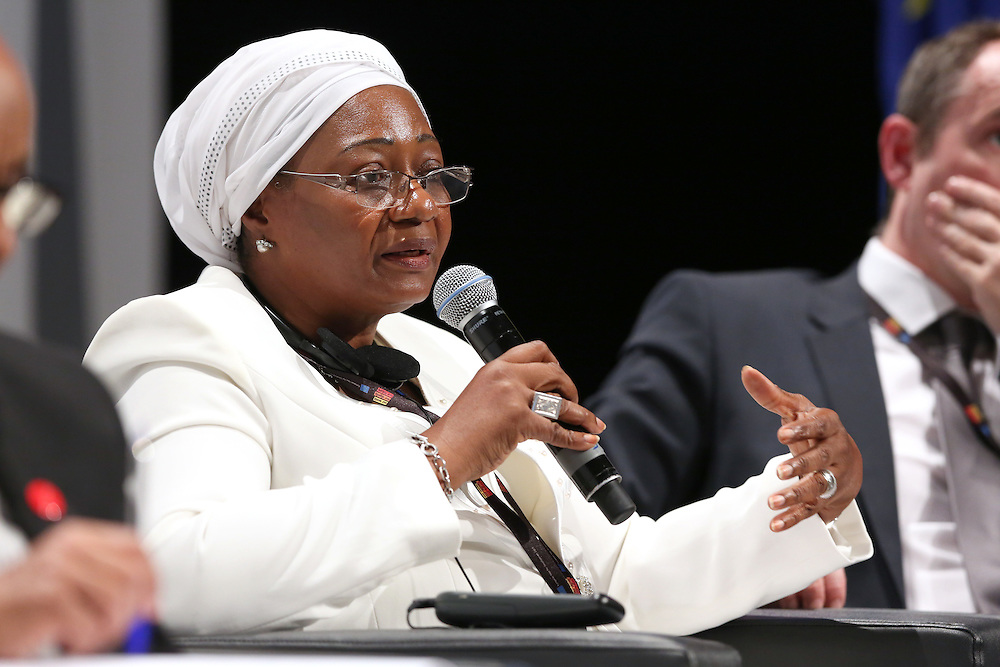 03 June 2015 - Belgium - Brussels - European Development Days - EDD - Trade - Trade for inclusive and sustainable growth - Zeinabou Maidah , Chief Executive Officer , NIGER-Lait S.A. © European Union