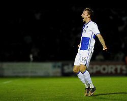 Chris Lines of Bristol Rovers - Mandatory by-line: Neil Brookman/JMP - 11/08/2016 - FOOTBALL - Memorial Stadium - Bristol, England - Bristol Rovers v Cardiff City - EFL League Cup
