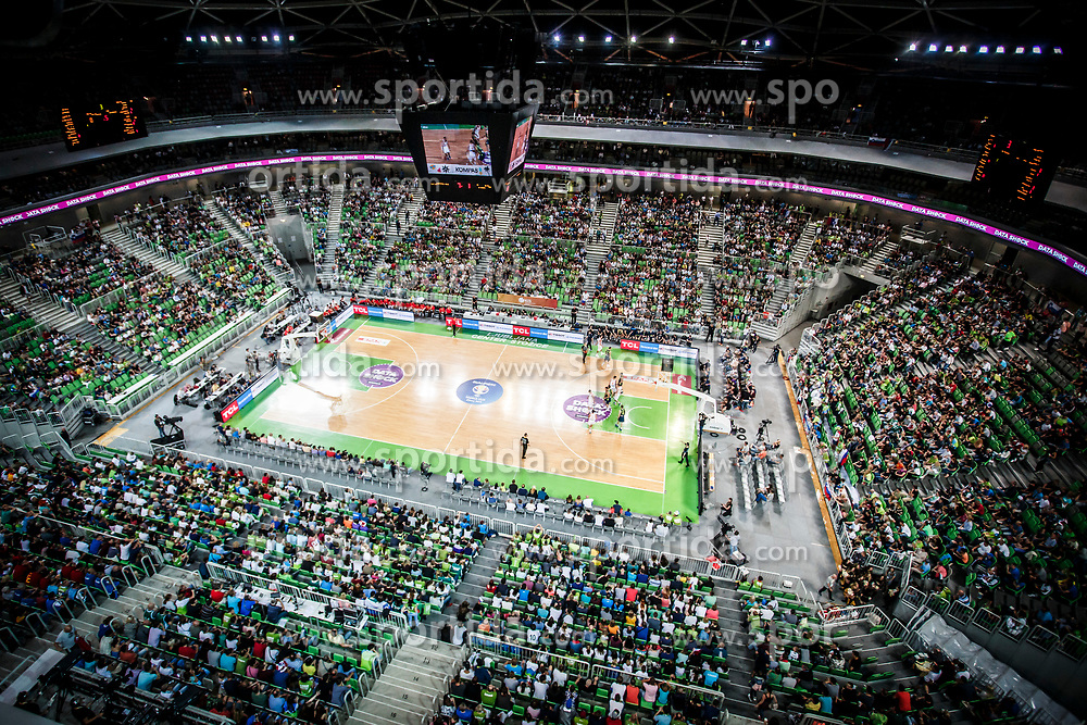 Arena Stozice during basketball match between Slovenia and Spain in Round #5 of FIBA Basketball World Cup 2019 European Qualifiers, on June 28, 2018 in SRC Stozice, Ljubljana, Slovenia. Photo by Urban Urbanc / Sportida