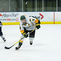 in action during the Women's Hockey home game on October 13 at Co-operators arena. Credit: Arthur Ward/Arthur Images