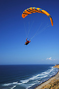Paragliding Along the Coast of La Jolla California