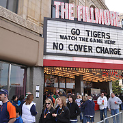 The Fillmore Detroit on Tigers opening day 2009.