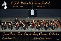 Grand Prairie Fine Arts Academy Chamber Orchestra