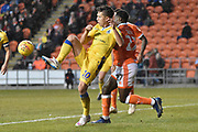 Bristol Rovers Forward, Tom Nichols (10) during the EFL Sky Bet League 1 match between Blackpool and Bristol Rovers at Bloomfield Road, Blackpool, England on 3 November 2018.