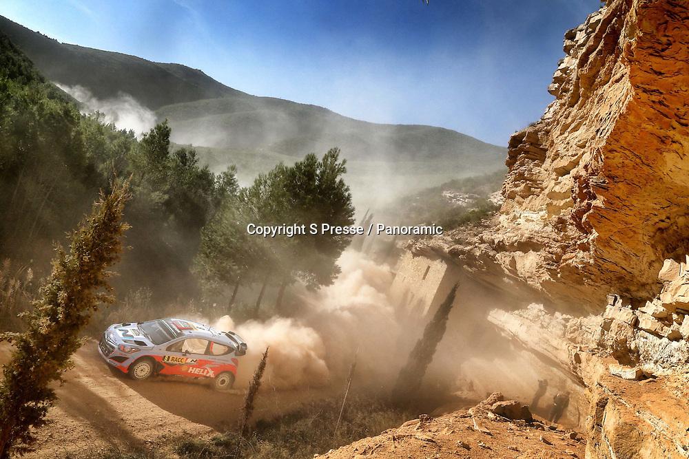 Dani Sordo (ESP) / Marc Marti (ESP) - Hyundai I20 WRC