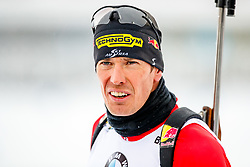 March 16, 2019 - –Stersund, Sweden - 190316 Julian Eberhard of Austria ahead the Men's 4x7,5 km Relay during the IBU World Championships Biathlon on March 16, 2019 in Östersund..Photo: Johan Axelsson / BILDBYRÃ…N / Cop 245 (Credit Image: © Johan Axelsson/Bildbyran via ZUMA Press)