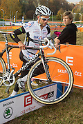 CZECH REPUBLIC / TABOR / WORLD CUP / CYCLING / WIELRENNEN / CYCLISME / CYCLOCROSS / VELDRIJDEN / WERELDBEKER / WORLD CUP / COUPE DU MONDE / #2 / NIELS ALBERT (BKCP-POWERPLUS) /