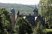 Schloss Haemelschenburg, Weserrenaissance, Weserbergland, Niedersachsen, Deutschland.| .Schloss Haemelschenburg, Weserbergland, Lower Saxony, Germany.