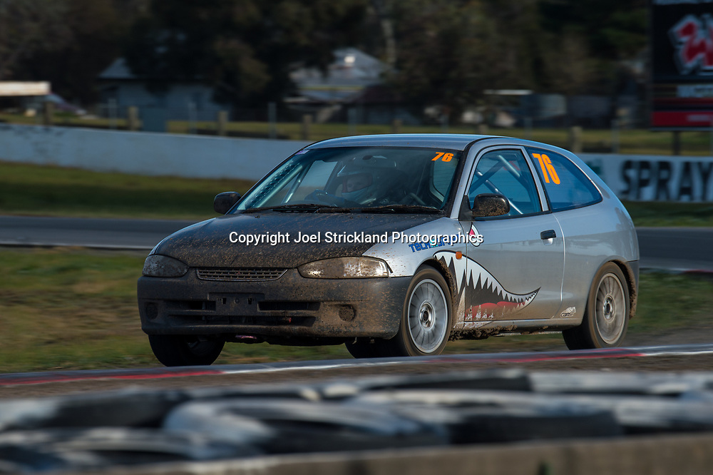 Zac Edwards - Mitsubishi Mirage - Rallycross Australia - Winton Raceway - 16th July 2017