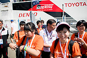 TOYOTA GAZOO  Racing. <br /> Le Mans 24 Hours Race, 11th to 17th June 2018<br /> Circuit de la Sarthe, Le Mans, France.