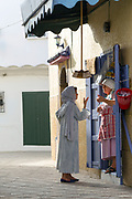 Street architecture and local life, Asilah, Northern Morocco, 2015-08-10. <br />