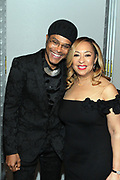NEW YORK, NEW YORK- FEBRUARY 11: (L-R)  Recording Artist Maxwell and Cheryl McKissack Daniel (Honoree) attend the National CARES Mentoring Movement 'FOR THE LOVE OF OUR CHILDREN' Gala Inside held at the Zeigfeld Ballroom on February 11, 2019 in New York City.  (Photo by Terrence Jennings/terrencejennings.com)
