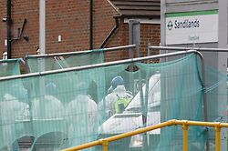 © Licensed to London News Pictures. 10/11/2016. Croydon, UK. Investigations are continuing into a tram crash that police say claimed seven lives and injured 50. The driver has been arrested and is being questioned by police. Photo credit: Peter Macdiarmid/LNP