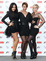 The Sugababes; Jade Ewen; Amelle Berrabah; Heidi Range F1 Party held in aid of Great Ormond Street Hospital Children's Charity at London's Natural History Museum, UK, 05 July 2010:  For piQtured Sales contact: Ian@Piqtured.com +44(0)791 626 2580 (Picture by Richard Goldschmidt/Piqtured)