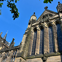 Memorial Chapel at University of Glasgow in Glasgow, Scotland <br />
