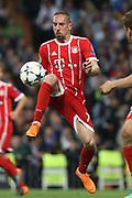 Franck Ribery (Bayern Munich ) during the UEFA Champions League, semi final, 2nd leg football match between Real Madrid and Bayern Munich on May 1, 2018 at Santiago Bernabeu stadium in Madrid, Spain - Photo Laurent Lairys / ProSportsImages / DPPI