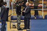 DESCRIZIONE : Torino Campionato 2015/16 Serie A Beko Lega A Manital Auxilium Torino -  Grissin Bon Reggio Emilia<br /> GIOCATORE : Massimiliano Menetti<br /> CATEGORIA : Curiosit&agrave; Microfono Sky Sport TV Before Pregame<br /> SQUADRA : Grissin Bon Reggio Emilia<br /> EVENTO : LegaBasket Serie A Beko 2015/2016<br /> GARA : Manital Auxilium Torino - Grissin Bon Reggio Emilia<br /> DATA : 05/10/2015<br /> SPORT : Pallacanestro<br /> AUTORE : Agenzia Ciamillo-Castoria/GiulioCiamillo