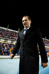 OSIJEK, CROATIA - Tuesday, October 16, 2012: Croatia's head coach Igor Stimac during the Brazil 2014 FIFA World Cup Qualifying Group A match against Wales at the Stadion Gradski Vrt. (Pic by David Rawcliffe/Propaganda)