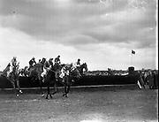 Irish Grand National at Fairyhouse. The 1958 winner was 'Gold Legend' .07/04/1958 .