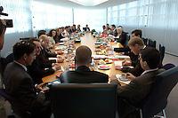 14 JUN 2004, BERLIN/GERMANY:<br /> Uebersicht, Sitzung des SPD Praesidiums nach der Landtagswahl in Thueringen und der Europawahl, Willy-Brandt-Haus<br /> IMAGE: 20040614-01-025<br /> KEYWORDS: Präsidium, Übersicht