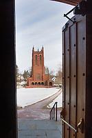 St Paul's School Doors.  ©2018 Karen Bobotas Photographer