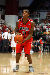 Feb 4, 2012; Stanford CA, USA; Arizona Wildcats guard Josiah Turner (11) before a free throw against the Stanford Cardinal during the second half at Maples Pavilion.  Arizona defeated Stanford 56-43. Mandatory Credit: Jason O. Watson-US PRESSWIRE
