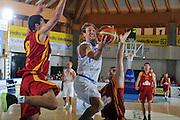 BORMIO 29 LUGLIO 2011<br /> BASKET FIP<br /> NAZIONALE ITALIANA PALLACANESTRO<br /> ITALIA MACEDONIA<br /> NELLA FOTO POETA<br /> FOTO CIAMILLO