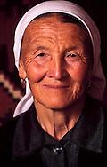Manap Mykhanova, a matriarch in Shieli village in the Qizilorda region.