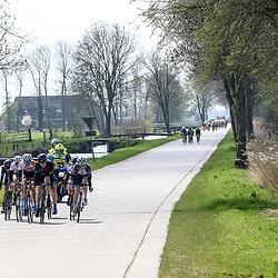16-04-2016: Wielrennen: IJsseldelta Topcompetitie vrouwen: Zwolle<br />ZWOLLE (NED) wielrennen <br />Wind was in deze editie de grootste tegenstanders van de vrouwen. Net na Hasselt de koers met diverse groepen