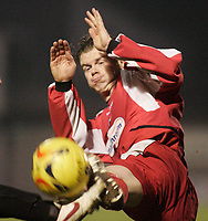 Matthew Lockwood.<br /> Leyton Orient v Northampton Town, Coca Cola League 2, London. 14/01/06 Photo by Barry Bland