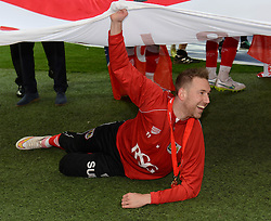 Bristol City's Scott Wagstaff - Photo mandatory by-line: Dougie Allward/JMP - Mobile: 07966 386802 - 22/03/2015 - SPORT - Football - London - Wembley Stadium - Bristol City v Walsall - Johnstone Paint Trophy Final