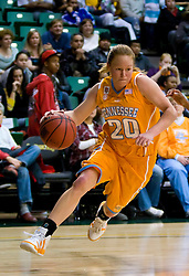 December 22, 2009; San Francisco, CA, USA;  Tennessee Lady Volunteers guard Sydney Smallbone (20) during the second half against the against the San Francisco Dons at War Memorial Gym.  Tennessee defeated San Francisco 89-34.