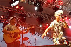 Iriê no palco Pretinho Convida do Planeta Atlântida 2013/SC, que acontece nos dias 11 e 12 de janeiro no Sapiens Parque, em Florianópolis. FOTO: Marcos Nagelstein/Preview.com
